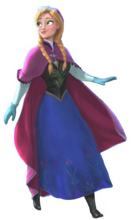 Princess Anna Of Arendelle From Disney S Frozen Anna